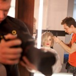 Tomasz Marut, Avant Apres, stylista, making of sesji L'oreal Color Trophy