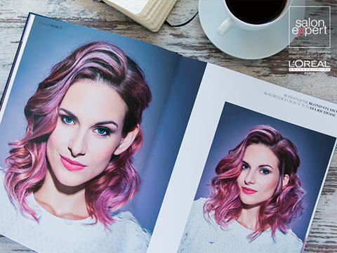 #lookbook_L'Oréal_Professionel – stylizacja numer 3